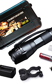 MEILV 3 Mode 235 Lumens LED Flashlights/Bike Lights/Handheld Flashlights 18650Adjustable Focus/Waterproof/Rechargeable