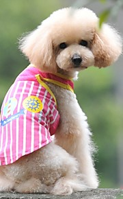블루/핑크 - 웨딩/코스프레 - 면 - 티셔츠 - 개/고양이