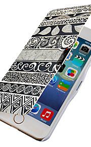 återställa gamla sätt mönster magnetisk flip hela kroppen fallet med hål för iphone 6 plus