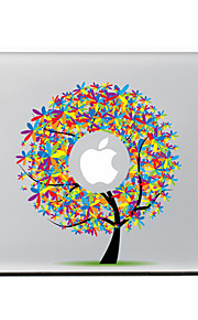 de kleur van de boom decoratieve skin sticker voor MacBook Air / Pro / Pro met Retina-display