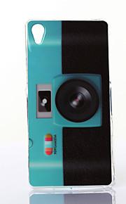 modèle de caméra fluorescente TPU étui flexible pour Z2 sony