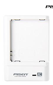 pisen sumsung portatile N9000 caricabatterie ii intelligente caricatore del cellulare ic con spina CA pieghevole bianco