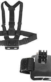 2-in-1 Gopro Accessory kit Chest Strap Wrist Band for Gopro hero4/3+/3/2/1