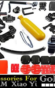 37pcs In 1 GoPro tilbehør Opsætning / glat Frame / Stropper / Tasker / Skrue / Suge / Håndgreb / klæbemiddel For Alle / SJCAM Kulfiber