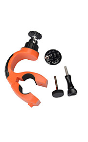 KingMa 360 Degrees Rotation Clamps Seatpost Handlebar with 1/4 Tripod Adapter for Gopro 4 3 3+ 2 1 SJ4000
