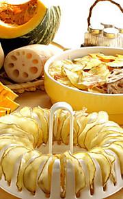 diy Mikrowelle gebackene Kartoffelchips Backofen Grill Warenkorb Sätze