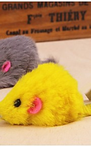 gøre katten legetøj mus (tilfældig farve)