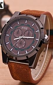 forma de quartzo relógio analógico esporte lazer pulso dos homens (cores sortidas)