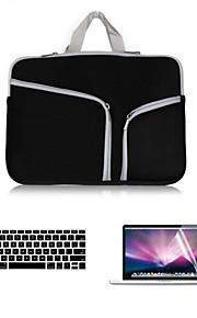 """business 3 em 1 manga de corpo inteiro com flim teclado e protetor de tela hd para MacBook Pro 13,3 """"(cores sortidas)"""