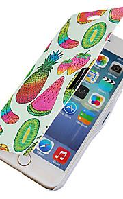 frukt mönster hela kroppen fallet med hål för iphone6 plus