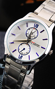 lazer das mulheres rodada roma número de discagem movimento pc aço inoxidável pulseira de moda impermeável relógio de quartzo