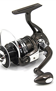 XY3000 5.2:1 11+1 Ball Bearings Black with Sliver Freshwater Fishing Carp Fishing Spinning Reels Left and Right Handle