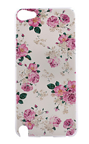 modello pc fiore rosa caso duro della copertura posteriore per iPod touch 5