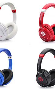moda Blutooth cuffie senza fili cuffia con microfono in linea&rumore orecchio controllo del volume che annulla auricolari carino