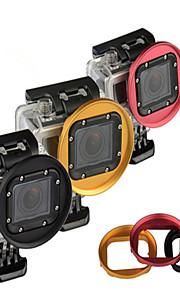 Kingma 58mm aluminiumslegering uv kpl nd linse filter adapter ring til GoPro Hero 3