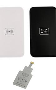 chargeur sans fil i-wc-wc2-IP définie pour iPhone6 / 6plus / 5s / 5 (noir / blanc)