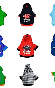 "DroolingDog®""6 Pieces Of Random Style Packing"" Pattern Take The Cap T-shirt For Dogs (Assorted Colors Assorted Sizes)"