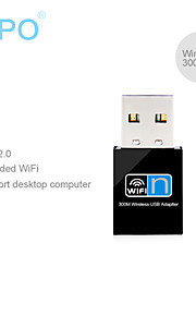 ZAPO W77 300M router adapter transmitter network Mini WIFI USB wireless network card