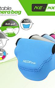 neoprene neopine moda triângulo macio saco caso da câmera para Samsung NX3000 lente da câmera 20-50mm
