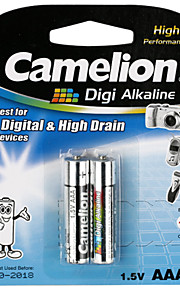 camelion digi alkaline primaire batterijen AAA (2 stuks)