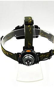 רצועות פנס - LED - מחנאות/צעידות/טיולי מערות / ציד / דיג / רב שימושי / טיפוס ( ניתן לטעינה מחדש / חירום / ראיית לילה / Zoomable ) 1 מצב
