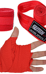 Cotton Sports Strap Boxing Bandage Sanda Muay Thai MMA Taekwondo Hand Gloves Wraps