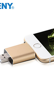 naeny® 32GB ios U-disk belysning data usb flash-driveren til iPhone / iPad / iPod / mac / pc