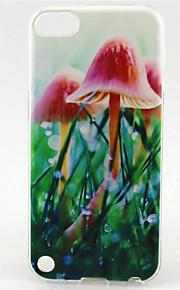 modello pittura fungo TPU custodia morbida per il tocco 5 / touch 6
