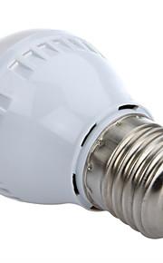 1 stk. HRY E26/E27 3W 10 SMD 2835 250 lm Varm hvit / Kjølig hvit A60(A19) Dekorativ LED-globepærer AC 220-240 V