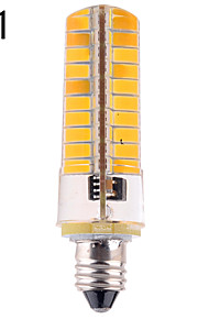 1 stk. YWXlight E11 / E12 / E17 12W 80 SMD 5730 1200 lm Varm hvit / Kjølig hvit T Dimbar LED-kornpærer AC 220-240 / AC 110-130 V