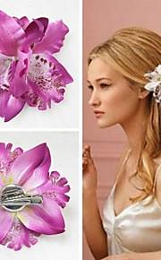 Silke Orkidéer Konstgjorda blommor