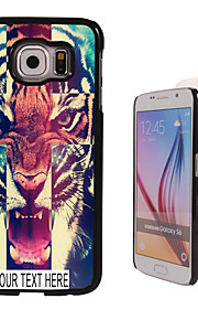 Personalized Case - Tiger Pattern Metal Case for Samsung Galaxy S6/ S6 edge/ note 5/ A8 and others