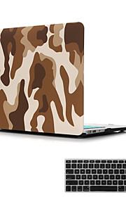 """2 1 매트의 표면 결정은 맥북 에어 11 """"/ 13""""+ 키보드 커버 하드 케이스 커버를 고무로"""