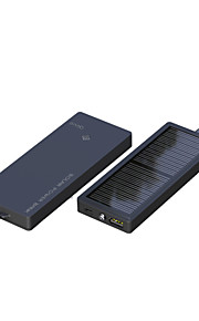 Black Color Sunshine Power Solar Charger For Mobile Phone With High Protection