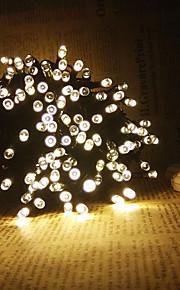 konge ro 19.7ft 60led solcelle streng lys fin chritmas dekorasjon streng lys utendørs whateproof lys