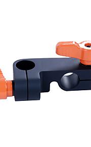 sevenoak® sk-c01a 15mm forbinde adapterstik stang adapter støtteordning for dslr skulder rig