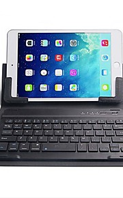 Mini Bluetooth Computer Keyboard and 7.9 - 8 Inch PU Ipad Cover Sets 2 Pieces