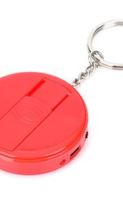 vliegen adelaar fe808 usb oplaadbare elektronische sigaret aansteker sleutelhanger - rood