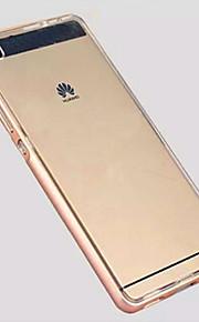 den nya metallramen plus tpu softshell för Huawei P8 mobiltelefon
