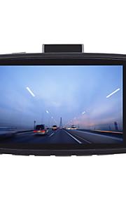 "H300 Full HD 2.4"" TFT 3.0MP Car Camcorder DVR w/ 6-LED Night Vision - Black"