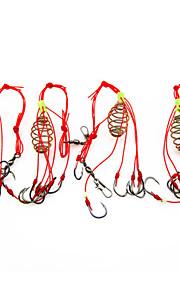 Fishing-4 pcs Black Stainless Steel / Iron-AnmukaSea Fishing / Fly Fishing / Bait Casting / Ice Fishing / Freshwater Fishing / Other /