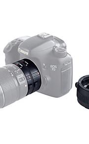 kk-c68p foco automático af extensão macro tubo definido para canon (12 milímetros 20 milímetros 36 milímetros) 60d 70d 5D2 5D3 7d 6d 650D