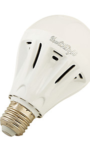 4W E27 LED-globepærer A60(A19) 12 SMD 5730 400 lm Varm hvit Kjølig hvit AC220 V 1 stk.