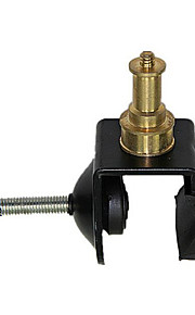 u-tip de metal clip-on lâmpada com tripé metalhead cobre com 1/4 'parafuso