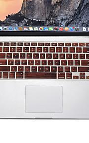 trä mönsterdesign silikon tangentbord täcker flår för macbook air 13,3, MacBook Pro med Retina 13 15 17 oss layout