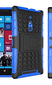 2 in 1 Dual-color Detachable PC+TPU Hybrid Case with Kickstand For Nokia Lumia 830 (Assorted Colors)
