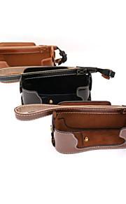 Dengpin PU Leather Half Camera Case Bag Cover Base for Fujifilm X-E1 X-E2 XE1 XE2(Assorted Colors)