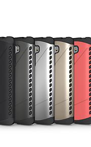 falske metal faldsikring kombination TPU + pc cover funda for lg g4 stylus ls770 (assorteret farve)
