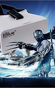 "IBlue®Head Mount Plastic  Version VR Virtual Reality Glasses Google Cardboard 3d Game Movie for 3.5"" - 6.0"" Smart Phone"