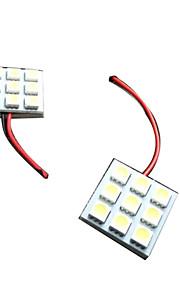 t10 de vente chaud, BA9S, feston voiture a conduit la lumière de plaque d'immatriculation, la voiture a conduit ampoules T10 5050 9SMD